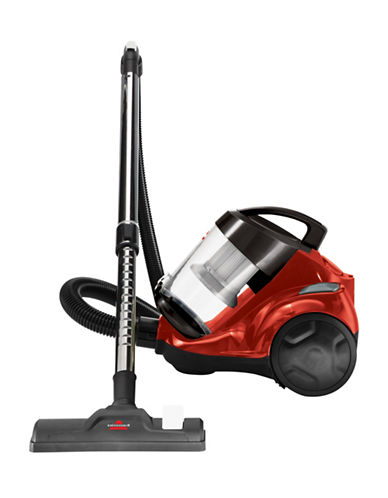 Bissell Homecare Bagless Canister Vacuum-RED-One Size