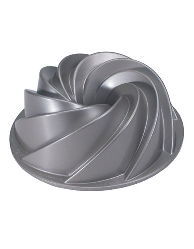 Nordicware Heritage Bundt Cake Pan-SILVER-One Size