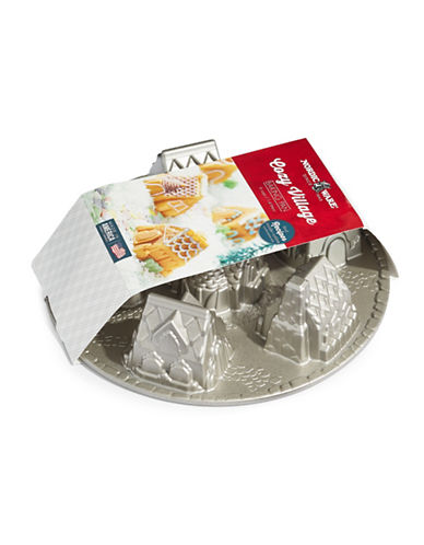 Nordicware Cozy Village Bundt Pan-GREY-One Size