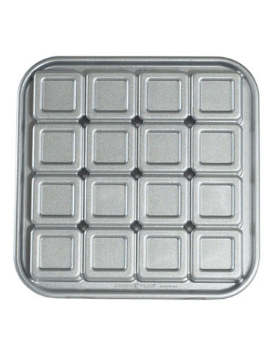 Nordicware Brownie Bites Pan-SILVER-One Size