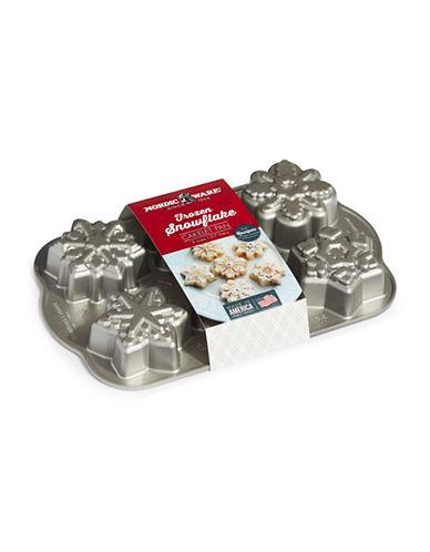 Nordicware Frozen Snowflake Cakelet Pan-GREY-One Size