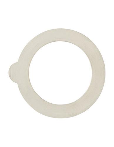 Bormioli Rocco Six-Pack Fido Small Rubber Jar Ring-WHITE-One Size