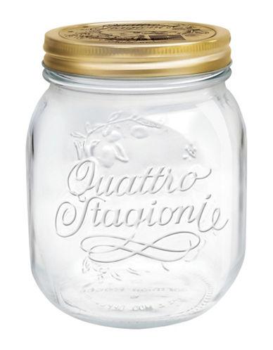 Bormioli Rocco Quattro Stagioni Jar - 5.07 oz.-CLEAR-0.7 L