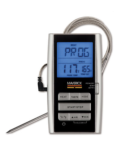 Maverick Sales Group Ltd Digital Roasting Thermometer-SILVER-One Size