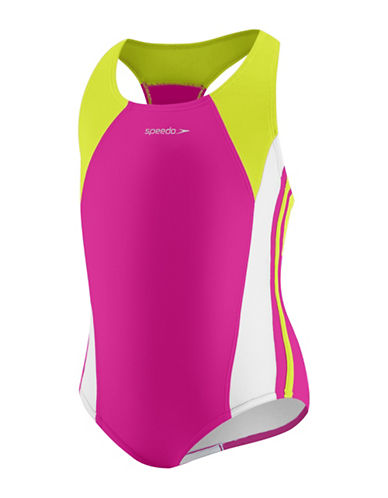 Speedo Infinity Splice One Piece-PINK-5