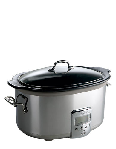 All-Clad 6.5 quart Slow Cooker-SILVER-One Size