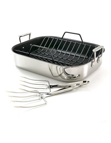 All-Clad Non-Stick Roaster-STAINLESS STEEL-One Size