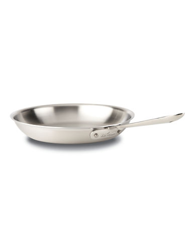 All-Clad Brushed D5 12-inch Fry Pan-STAINLESS STEEL-12in