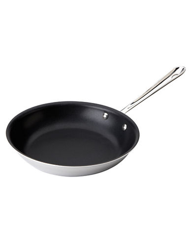All-Clad 10 Inch Stainless Steel Non-Stick Fry Pan-STAINLESS STEEL-One Size