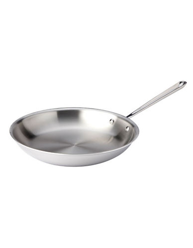 All-Clad 12 Inch 30.5cm Stainless Steel Fry Pan-SILVER-One Size