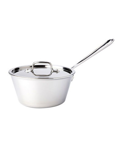 All-Clad 2.5 quart Stainless Steel Windsor Pan with Lid-SILVER-One Size