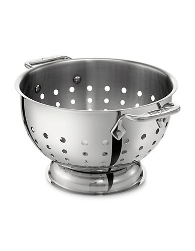 All-Clad 1.5-Quart Stainless Steel Colander-STAINLESS STEEL-One Size 90074183_STAINLESS STEEL_One Size