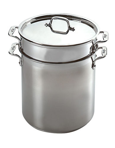 All-Clad 12 Qt. Multi Pot with Inserts-SILVER-12