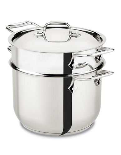 All-Clad All-Clad 6 Quart Pasta Pot-SILVER-6