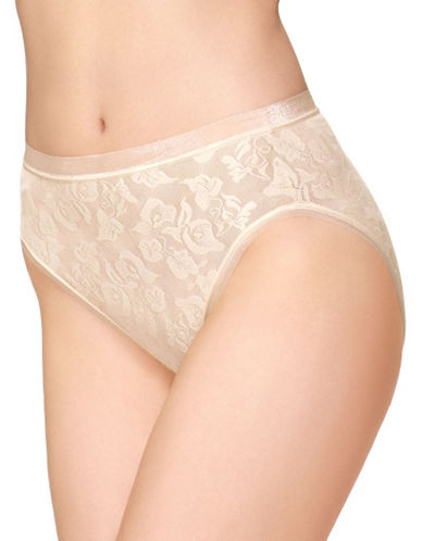 Wacoal Awareness Hi Cut Brief-NATURALLY NUDE-Medium