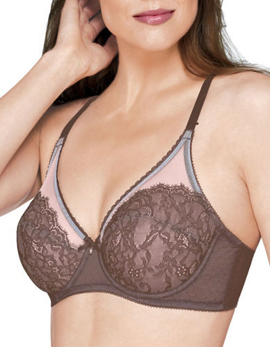Wacoal Retro Chic Full-Coverage Bra-CAPPUCCINO-32DD