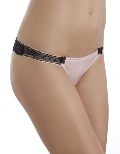 B. TemptD By Wacoal Most Desired Thong-PINK-X-Large