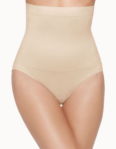 Wacoal Sensational Smoothing Hi-Waist Shape Brief-BEIGE-X-Large