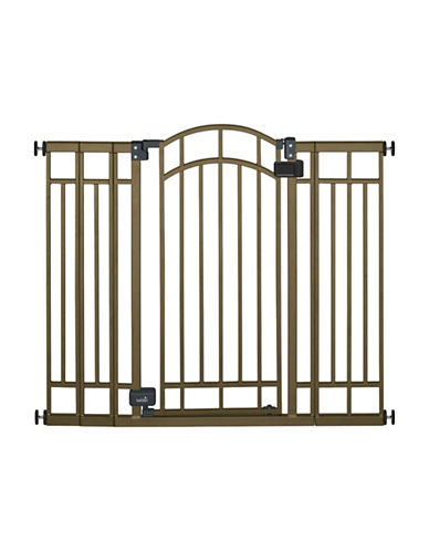 Summer Infant Deco Bronze Extra Tall Walk-Thru Gate-GOLD-One Size