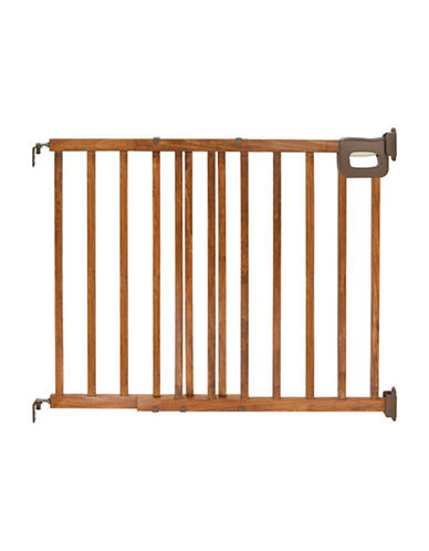 Summer Infant Wood Stairway Gate-BROWN-One Size