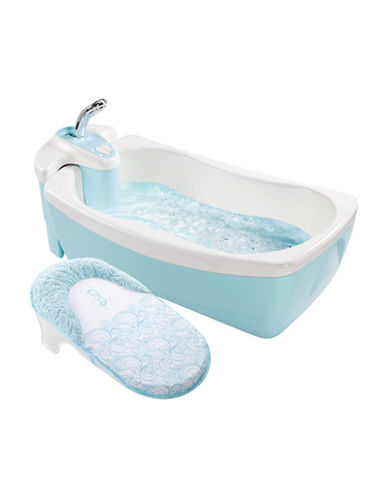 Summer Infant Lil Luxuries Whirlpool, Bubbling Spa and Shower-BLUE-One Size