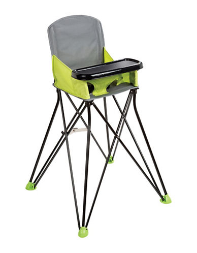 Summer Infant Pop N Sit Portable Highchair-GREEN-One Size