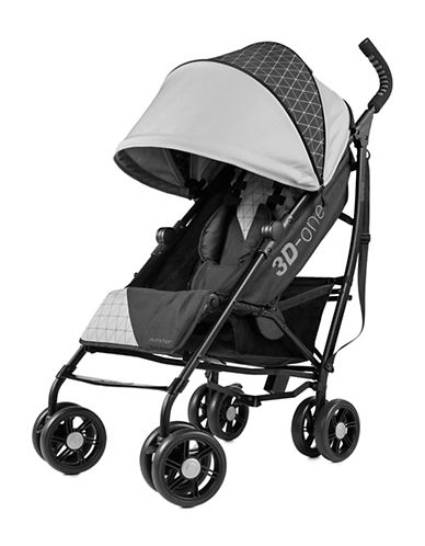 Summer Infant 3D-One Convenience Stroller-GREY/BLACK-One Size