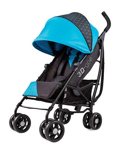 Summer Infant Convenience Stroller-BLUE/BLACK-One Size