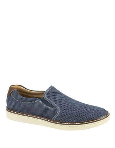 Johnston & Murphy McGuffey Slip-on Navy-NAVY-10