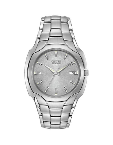 Citizen Mens Stainless Steel Watch-SILVER-One Size