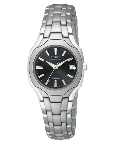 Citizen Eco-Drive Watch-SILVER-One Size