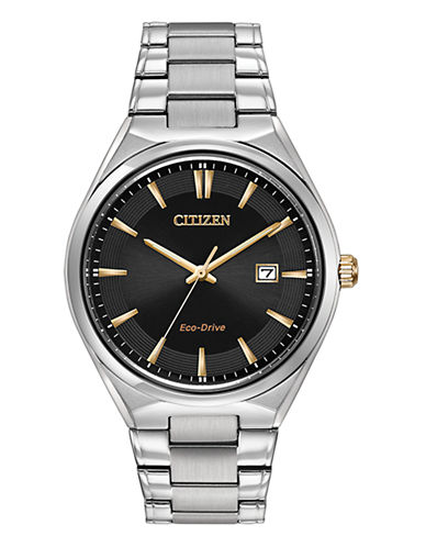 Citizen Mens Dress  BM731056H-SILVER-One Size