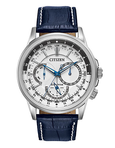 Citizen Mens Analog Calendrier Watch BU2020-02A-BLUE-One Size