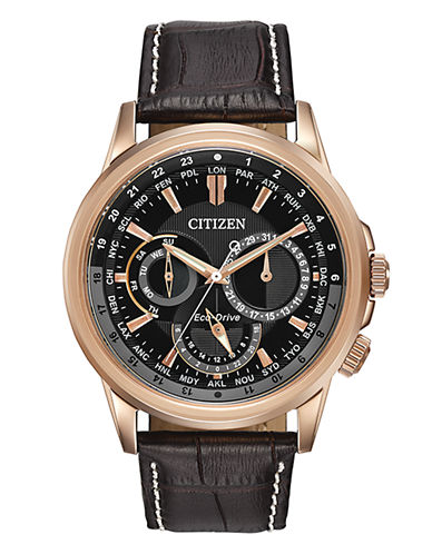 Citizen Mens Analog Calendrier Watch BU2023-04E-BLACK-One Size