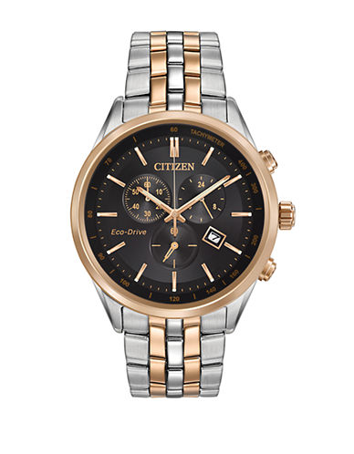 Citizen Sapphire Collection Two-Tone Stainless Steel Bracelet Watch-TWO TONE-One Size