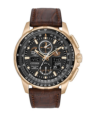 Citizen Skyhawk A-T Limited Edition Watch-BROWN-One Size