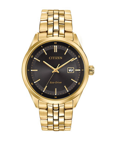 Citizen Corso BM7252-51E Goldtone Watch-GOLD-One Size