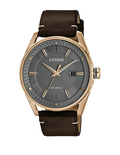 Citizen Drive Check This Out BM6983-00H Watch-BROWN-One Size