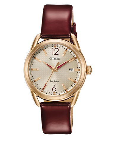 Citizen Drive Quartz LTR Watch-RED-One Size