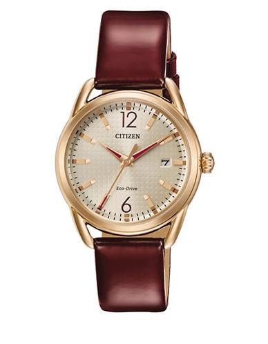 Citizen Drive Quartz LTR Watch-RED-One Size