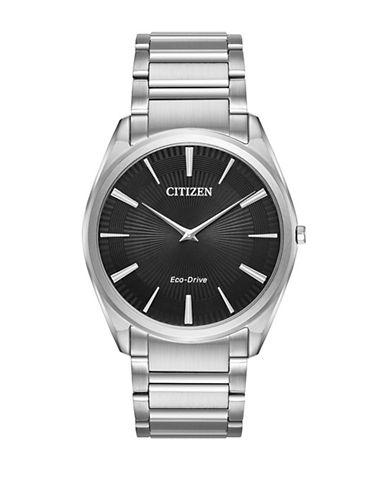 Citizen Stiletto Stainless Steel Link Bracelet Watch-SILVER-One Size
