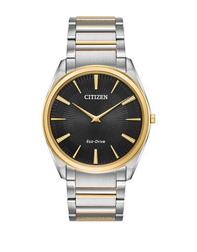 Citizen Stiletto Two-Tone Stainless Steel Link Bracelet Watch-TWO-TONE-One Size