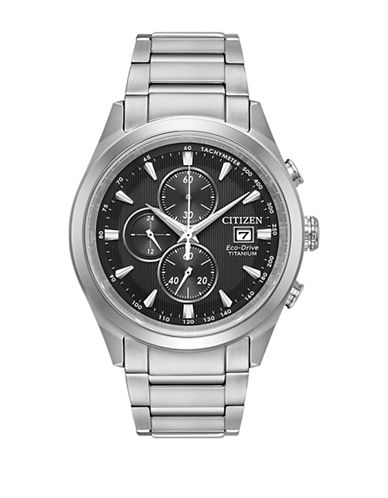 Citizen Chandler CA0650-58E Chronograph Bracelet Watch-SILVER-One Size