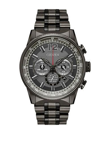 Citizen Nighthawk CA4377-53H Chronograph Watch-BLACK-One Size
