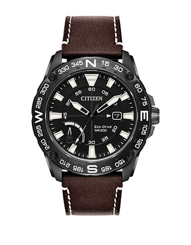 Citizen PRT AW7045-09E Strap Watch-BLACK-One Size