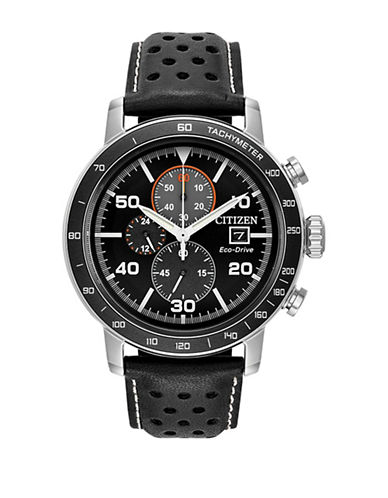 Citizen Brycen Chronograph CA0649-14E  Strap Watch-BLACK-One Size