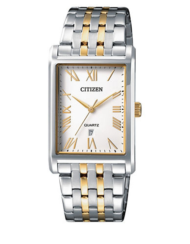 Citizen Quartz BH3004-59A Two-Tone Stainless Steel Bracelet Watch-MULTI-One Size