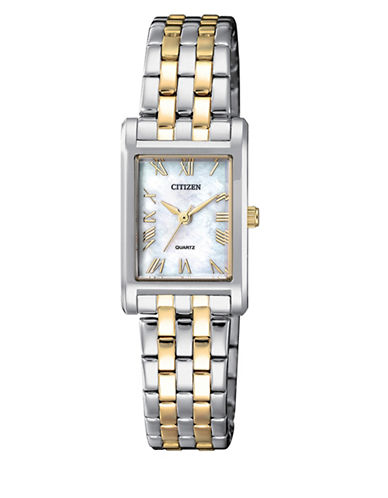 Citizen Quartz EJ6124-53D Two-Tone Stainless Steel Bracelet Watch-MULTI-One Size