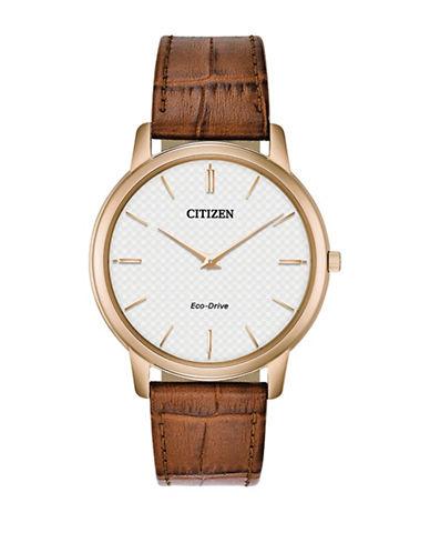 Citizen Stiletto AR1133-15A Strap Watch-BROWN-One Size