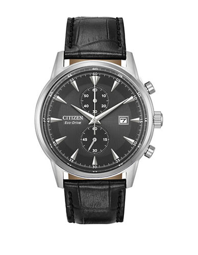 Citizen Corso CA7000-04H Chronograph Watch-BLACK-One Size